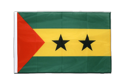 Sleeved Flag PRO Sao Tome and Principe - 2x3 ft