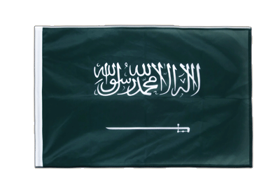 Sleeved Saudi Arabia Flag PRO - 2x3 ft