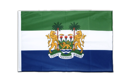 Sleeved Flag PRO Sierra Leone - 2x3 ft