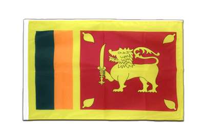 Sleeved Sri Lanka Flag PRO - 2x3 ft