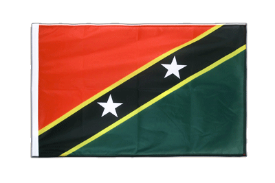 Sleeved Flag PRO Saint Kitts and Nevis - 2x3 ft