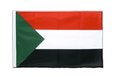 Sleeved Sudan Flag PRO - 2x3 ft