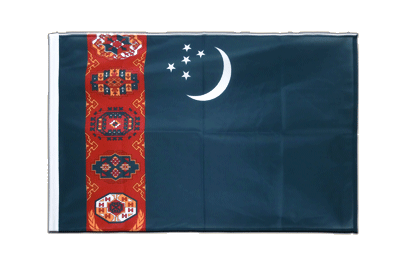 Sleeved Flag PRO Turkmenistan - 2x3 ft