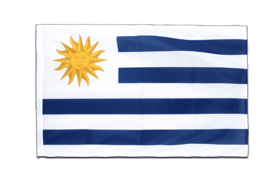 Sleeved Flag PRO Uruguay - 2x3 ft