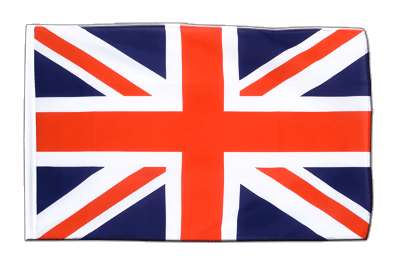 Sleeved Flag ECO Great Britain - 2x3 ft