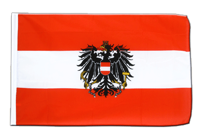 Sleeved Flag ECO Austria eagle - 2x3 ft
