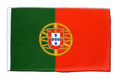 Sleeved Flag ECO Portugal - 2x3 ft
