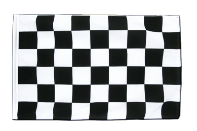 Sleeved Checkered Flag ECO - 2x3 ft