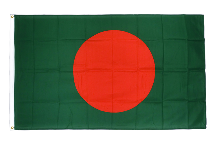 Premium Flag Bangladesh - 3x5 ft CV