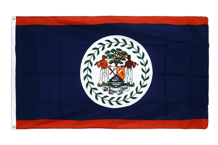 Premium Flag Belize - 3x5 ft CV