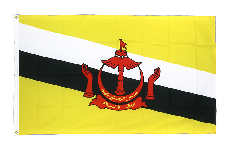 Premium Flag Brunei - 3x5 ft CV