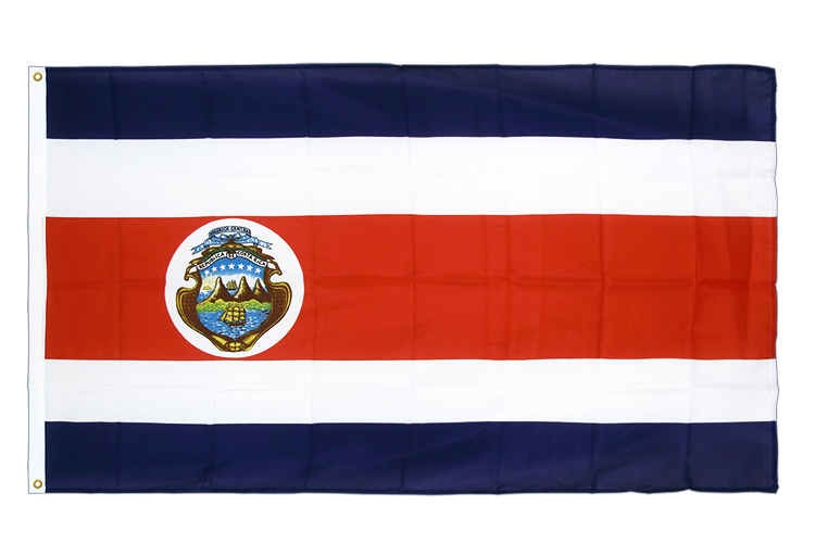 Premium Flag Costa Rica - 3x5 ft CV