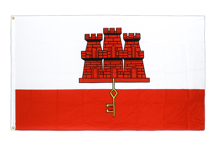 Gibraltar Flag - 3x5 ft CV