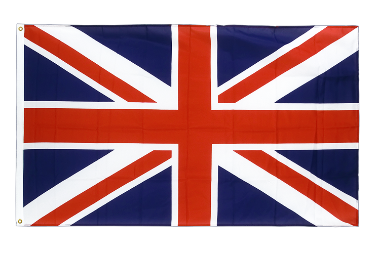 premium flag great britain - 3x5 ft cv
