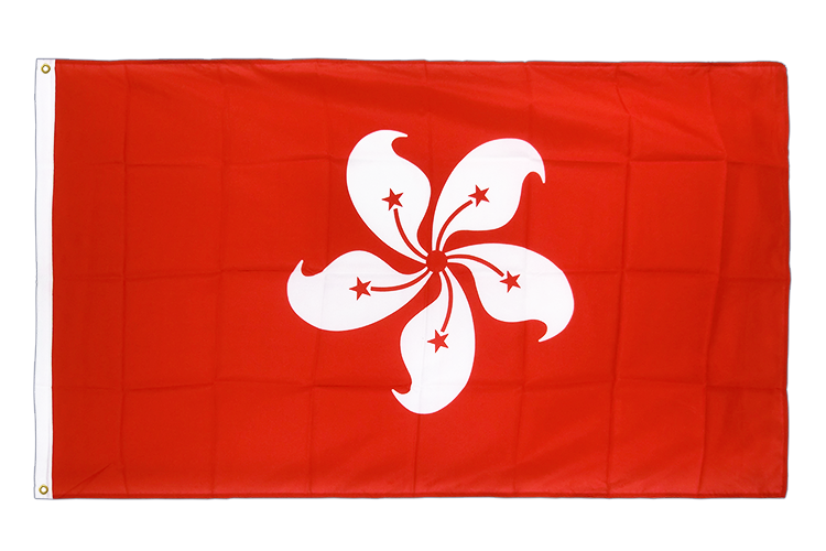 Hong Kong Flag - 3x5 ft CV