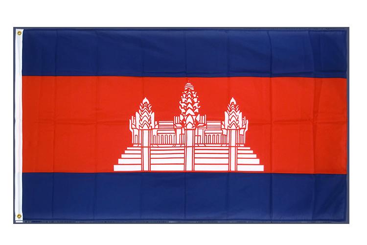 drapeau de qualit u00e9   cambodge - 90 x 150 cm cv