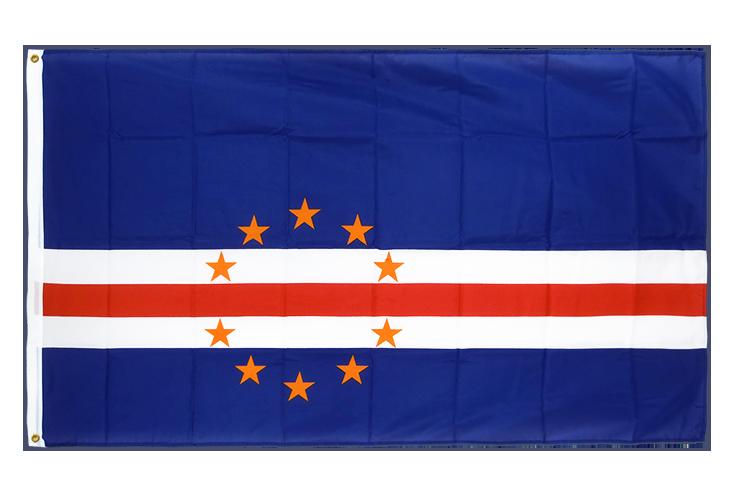 drapeau de qualit u00e9   cap vert - 90 x 150 cm cv