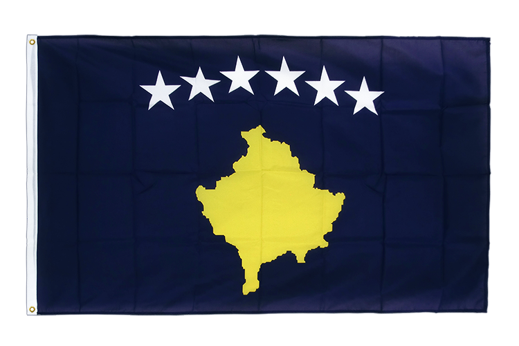 Premium Flag Kosovo - 3x5 ft CV