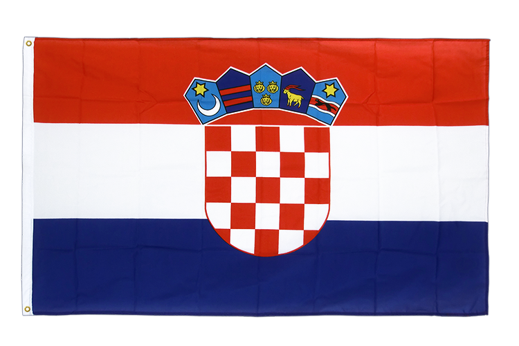 Premium Flag Croatia - 3x5 ft CV