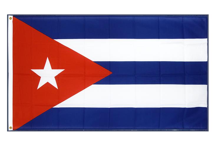 drapeau de qualit u00e9   cuba - 90 x 150 cm cv