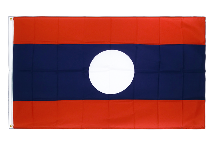 Premium Flag Laos - 3x5 ft CV