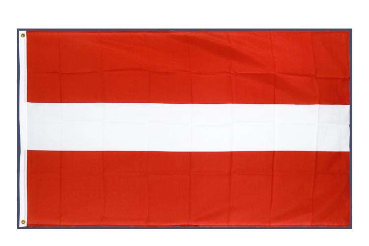 drapeau de qualit u00e9   lettonie - 90 x 150 cm cv