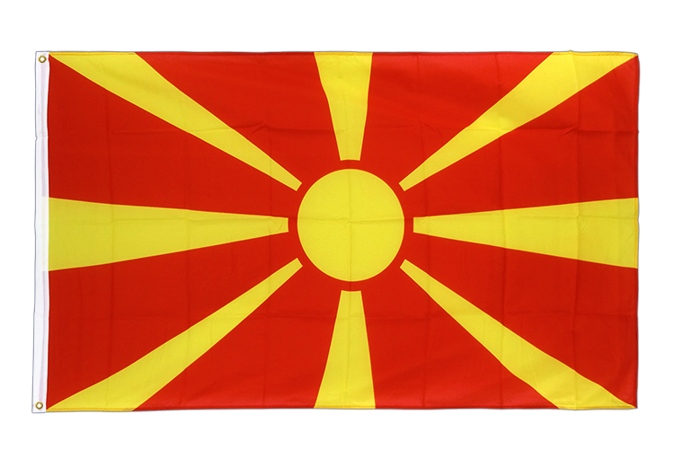 Premium Flag Macedonia - 3x5 ft CV