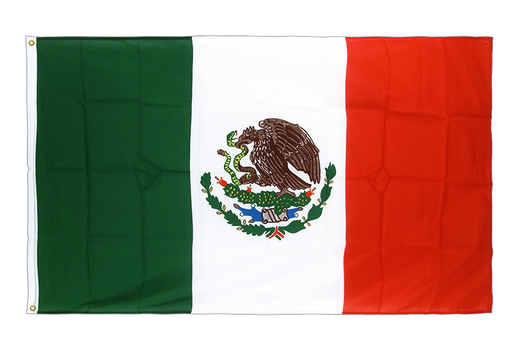 Premium Flag Mexico - 3x5 ft CV