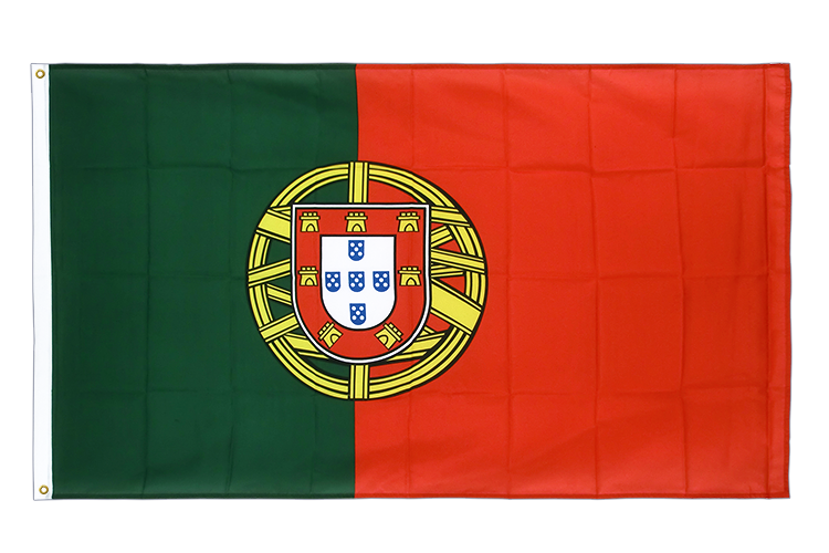 Premium Flag Portugal - 3x5 ft CV