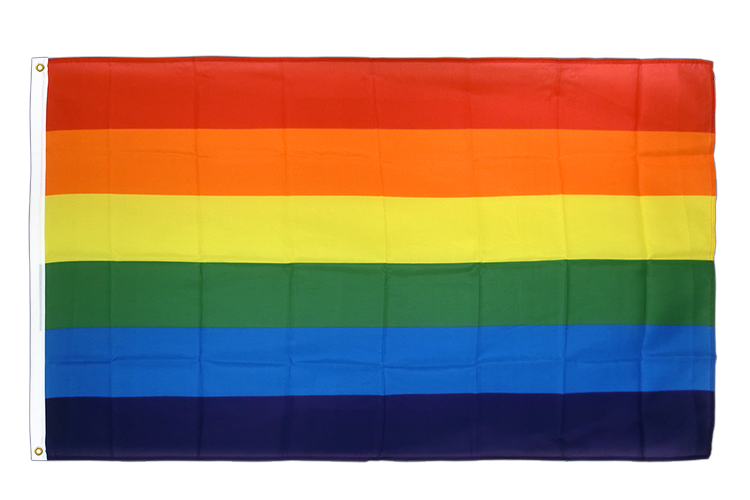 Premium Flag Rainbow - 3x5 ft CV
