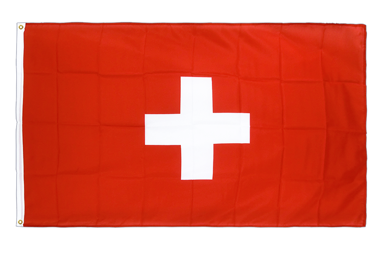 Premium Flag Switzerland - 3x5 ft CV