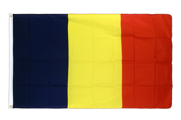 Premium Flag Chad - 3x5 ft CV