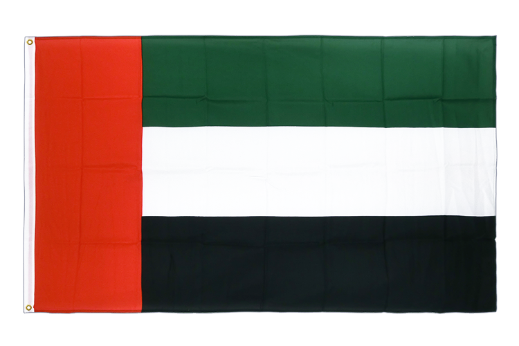 Premium Flag United Arab Emirates - 3x5 ft CV