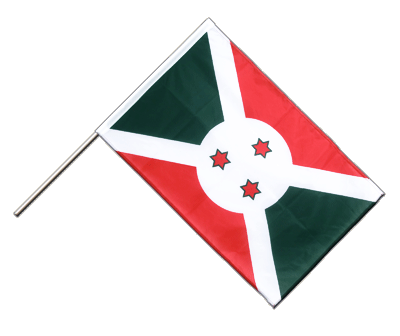 Hand Waving Flag PRO Burundi - 2x3 ft (60 x 90 cm)