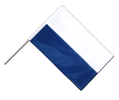 Hand Waving Flag PRO Bavaria without crest - 2x3 ft (60 x 90 cm)