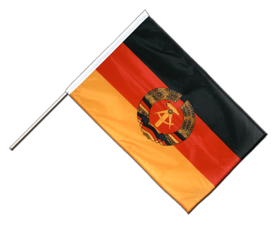 DDR - Stockflagge PRO 60 x 90 cm