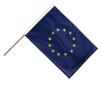 Hand Waving Flag PRO European Union EU - 2x3 ft (60 x 90 cm)