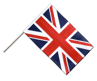Hand Waving Flag PRO Great Britain - 2x3 ft (60 x 90 cm)