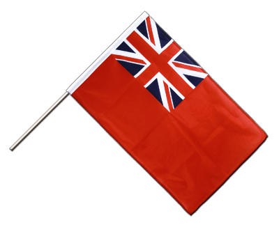 Stockflagge/Stockfahne PRO Red Ensign Handelsflagge - 60 x 90 cm