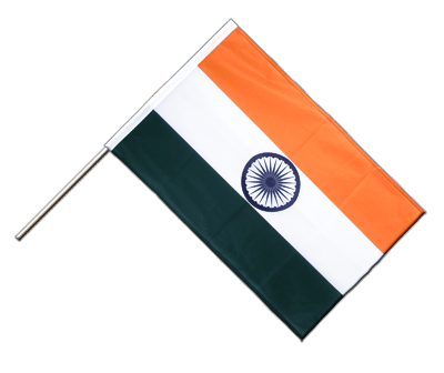 Indien Stockflagge - 60 x 90 cm PRO