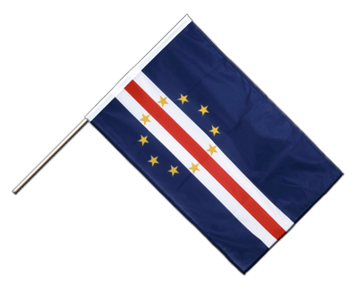 Hand Waving Flag PRO Cape Verde - 2x3 ft (60 x 90 cm)