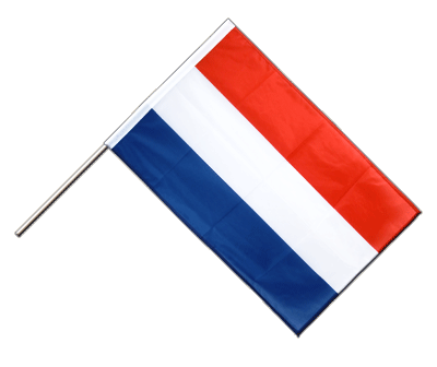 Hand Waving Flag PRO Luxembourg - 2x3 ft (60 x 90 cm)