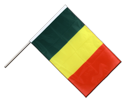 Hand Waving Flag PRO Mali - 2x3 ft (60 x 90 cm)