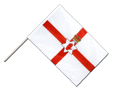 Hand Waving Flag PRO Northern Ireland - 2x3 ft (60 x 90 cm)