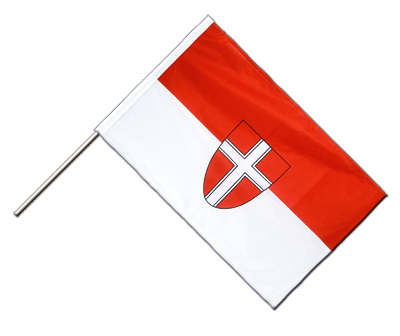 Vienna Hand Waving Flag PRO - 2x3 ft (60 x 90 cm)