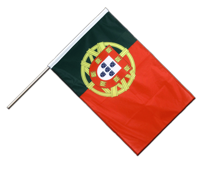Hand Waving Flag PRO Portugal - 2x3 ft (60 x 90 cm)
