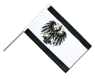Hand Waving Flag PRO Prussia - 2x3 ft (60 x 90 cm)