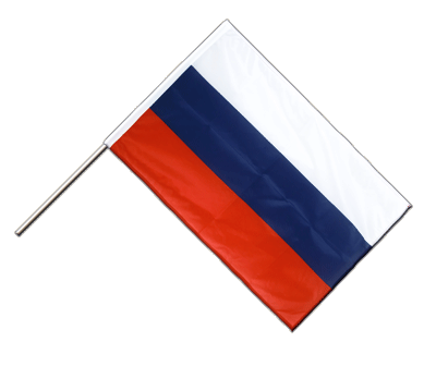 Russia Hand Waving Flag PRO - 2x3 ft (60 x 90 cm)