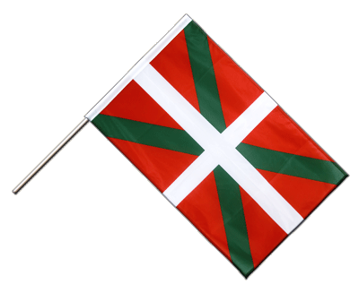 Hand Waving Flag PRO Basque country - 2x3 ft (60 x 90 cm)