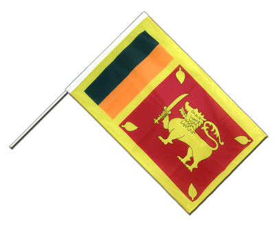 Hand Waving Flag PRO Sri Lanka - 2x3 ft (60 x 90 cm)